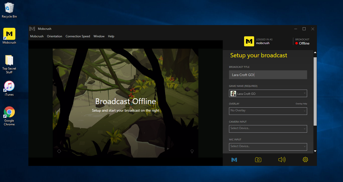 Mobcrush Finally Launches Its Windows Client, Now Everyone Can Stream iOS Games