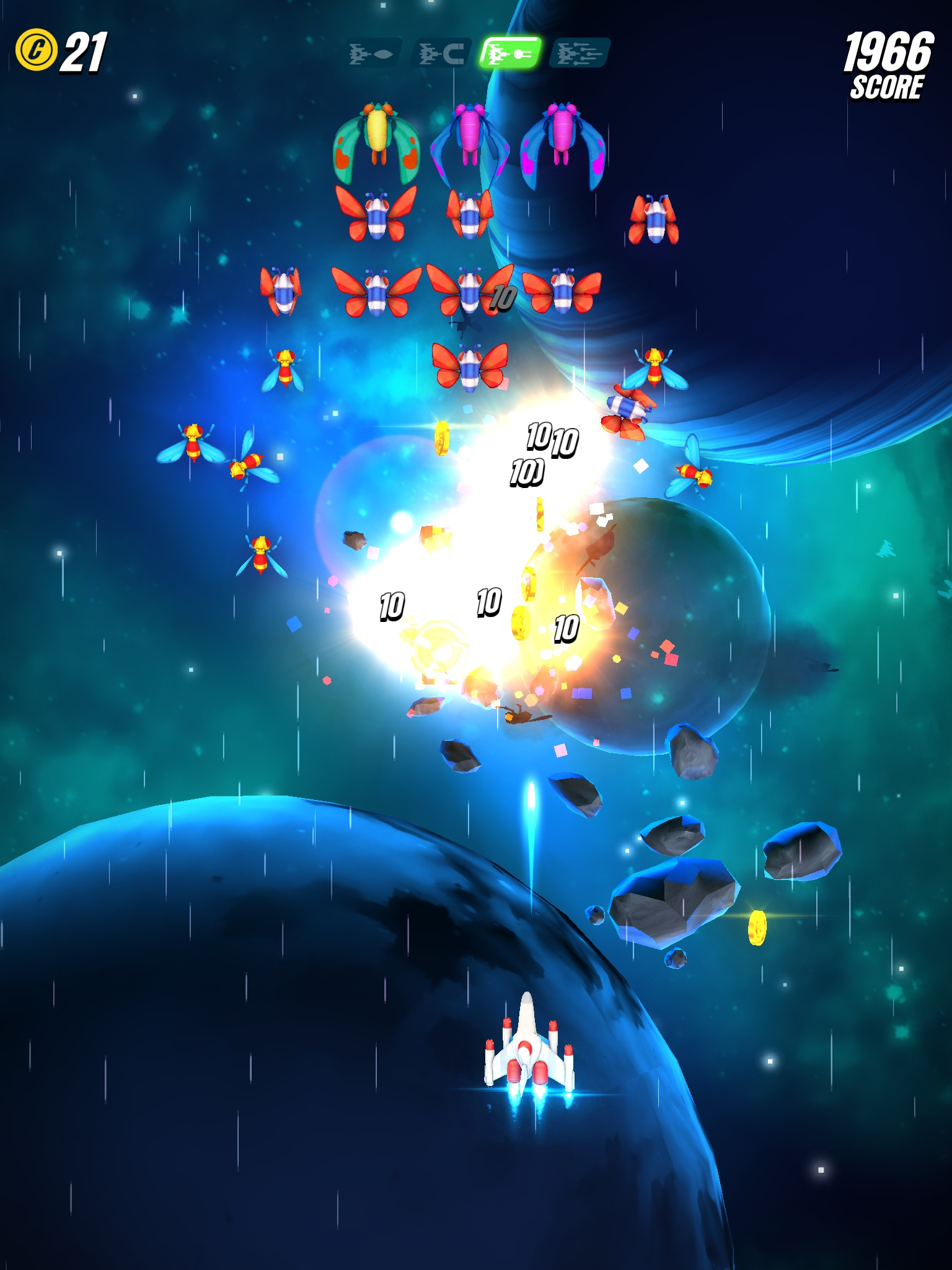 galaga wars soft launches in canada and australia could it be the