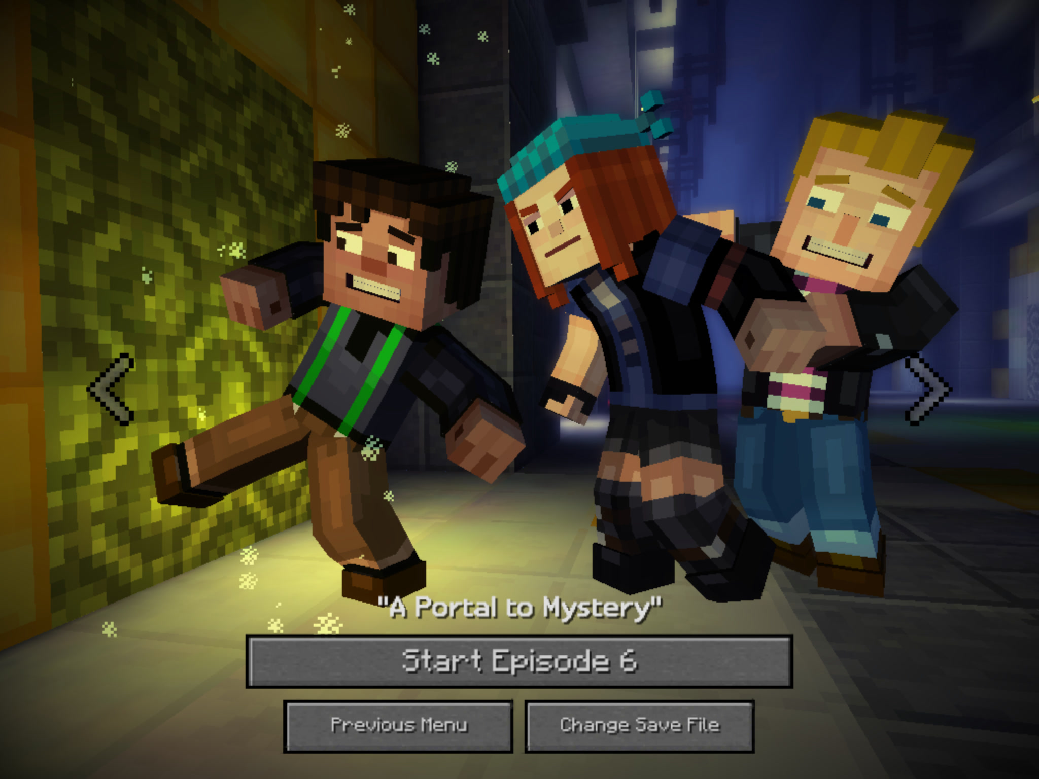 Minecraft: Story Mode' Episode 8 Review: Sprints to a