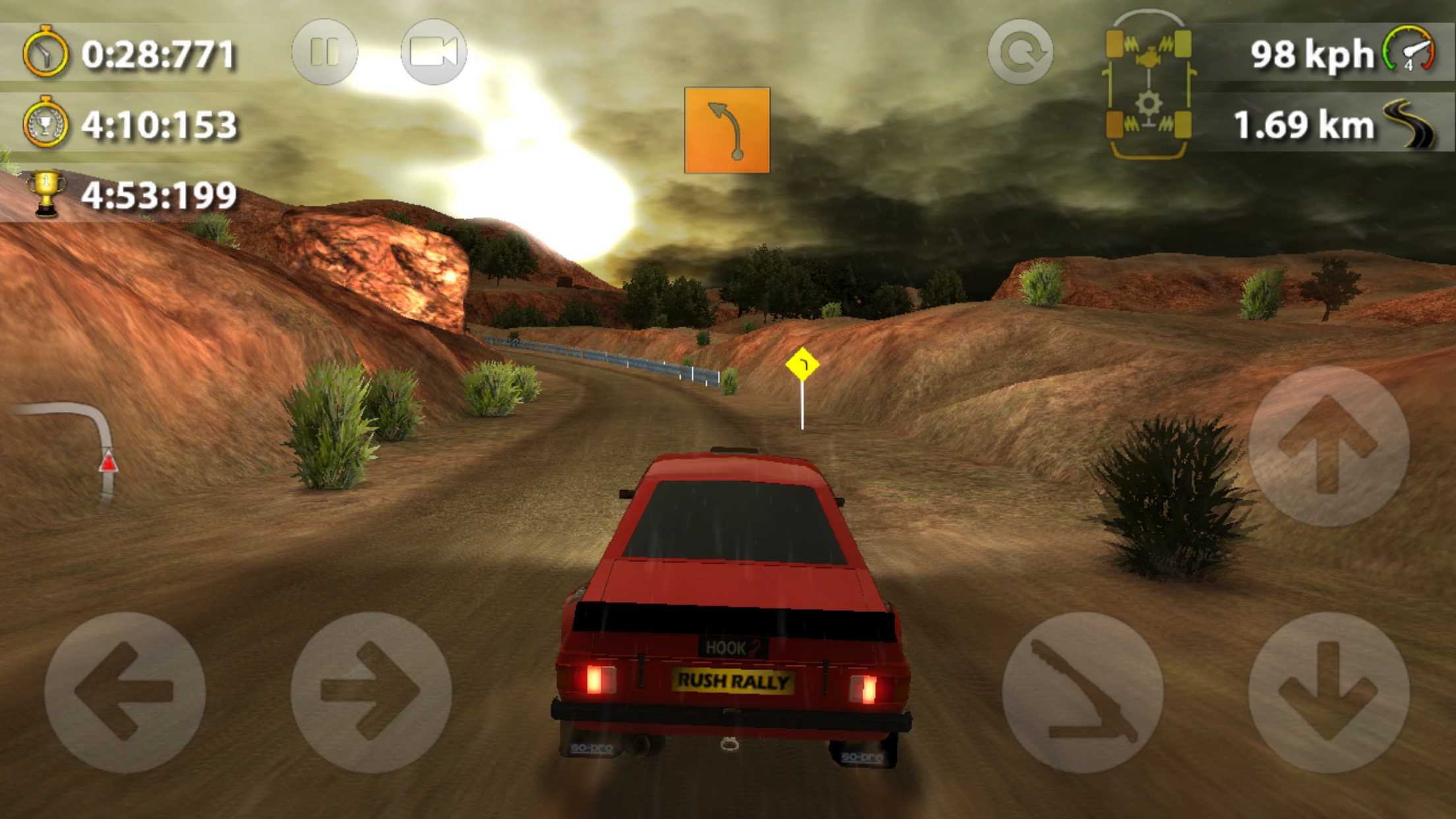 Rush Rally 2' Review – The Best Rally Racer on iOS – TouchArcade