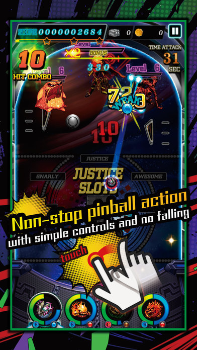 justice monsters five 2