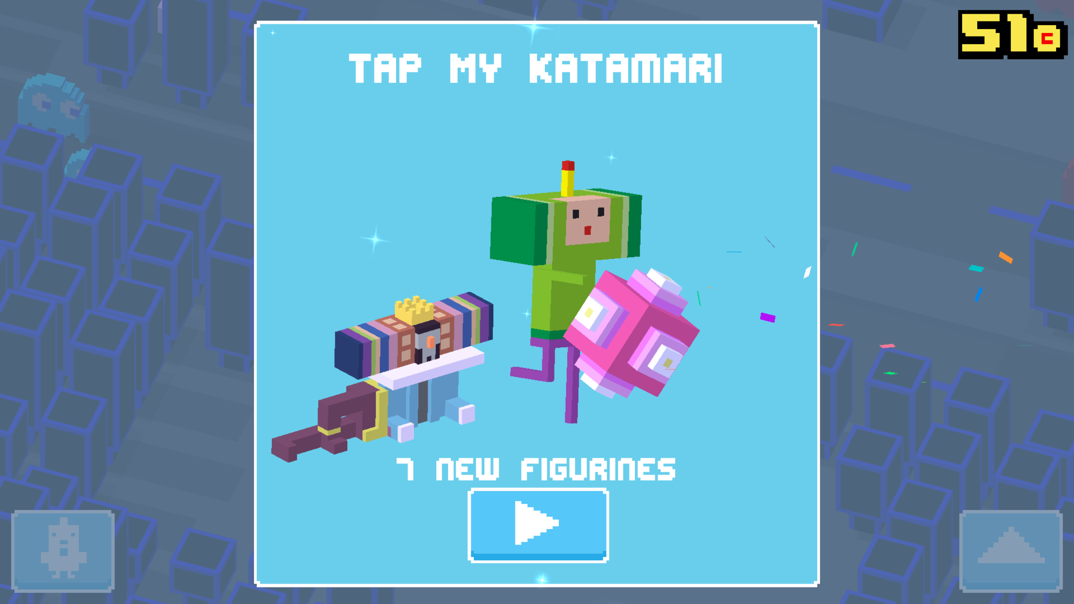 Crossy Road Tap My Katamari