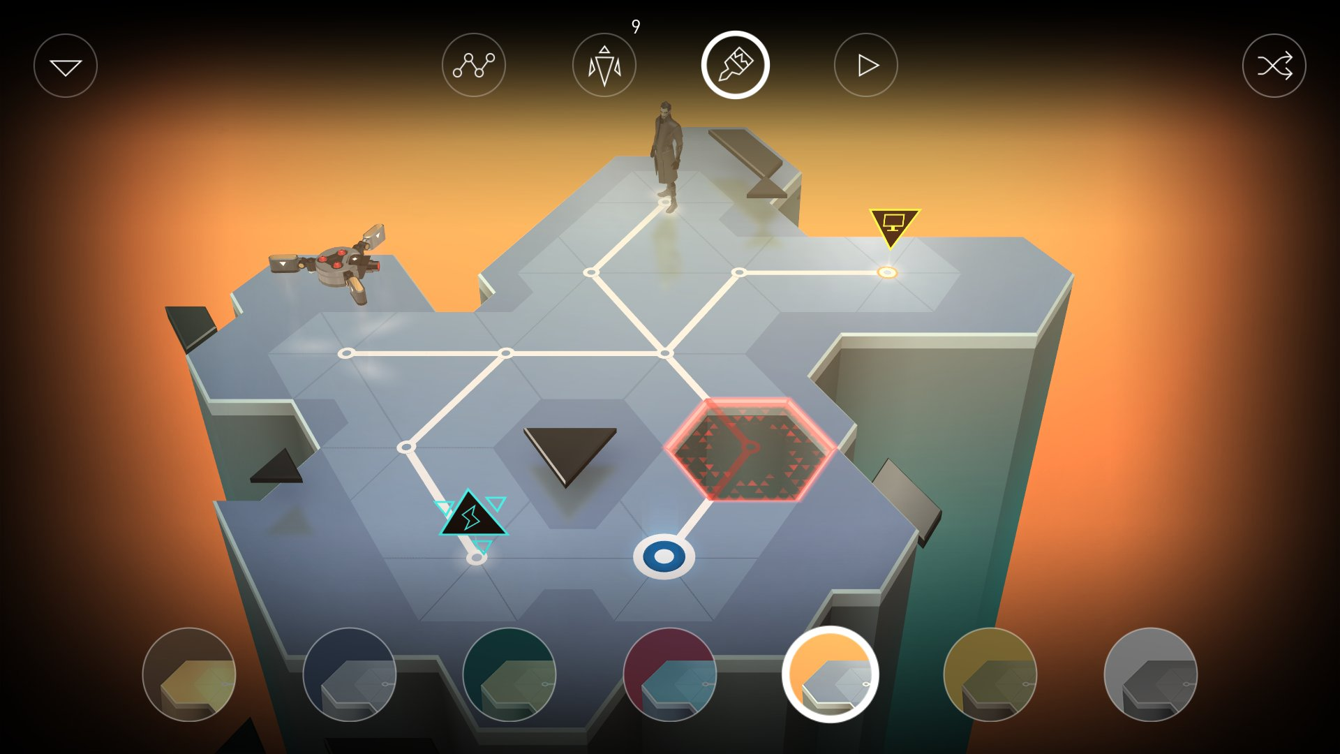 Deus Ex Go' Needs Beta Testers for Puzzle Maker Update – TouchArcade