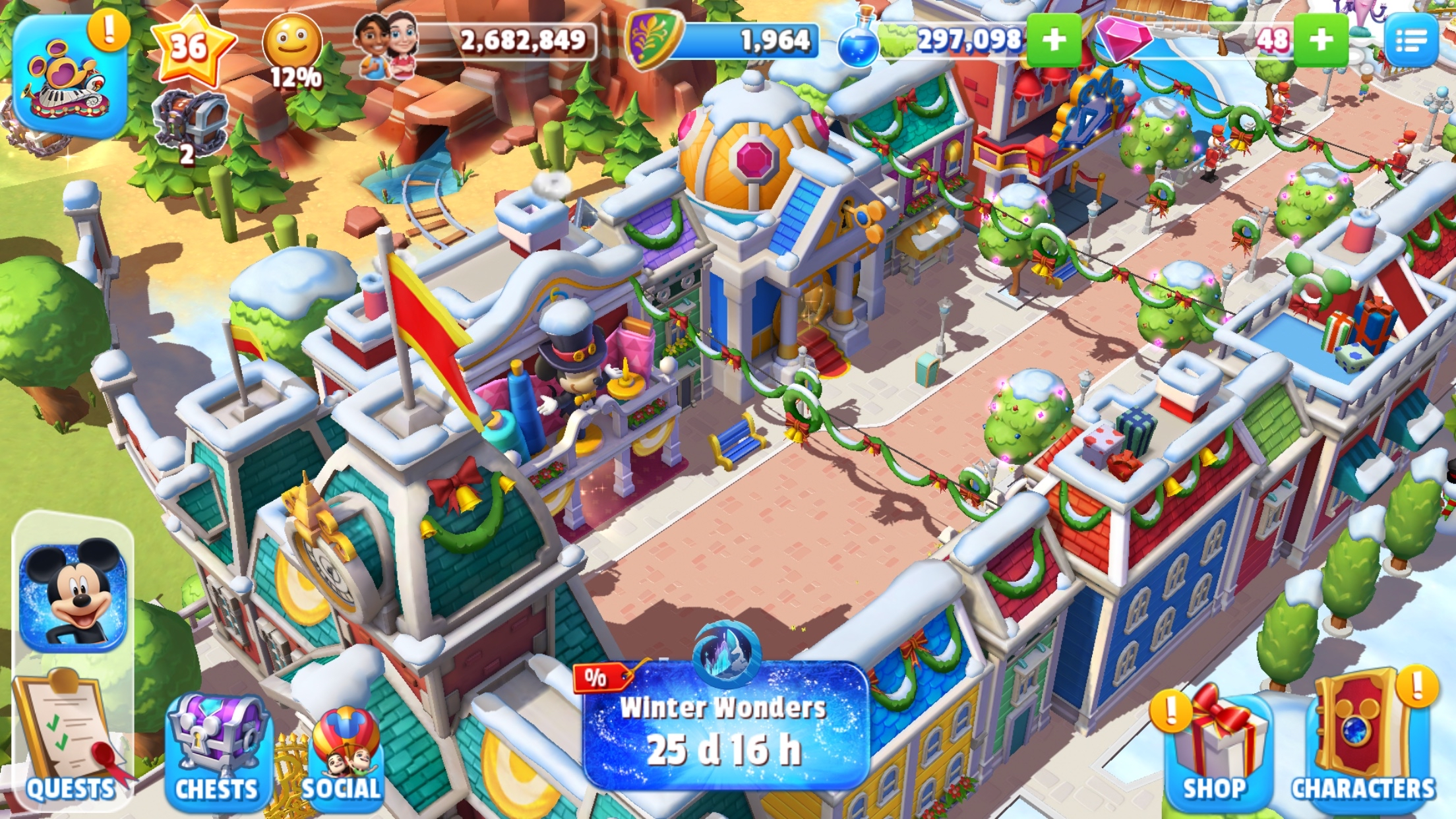 Disney Magic Kingdoms\' Goes \'Frozen\' In Holiday Update – TouchArcade
