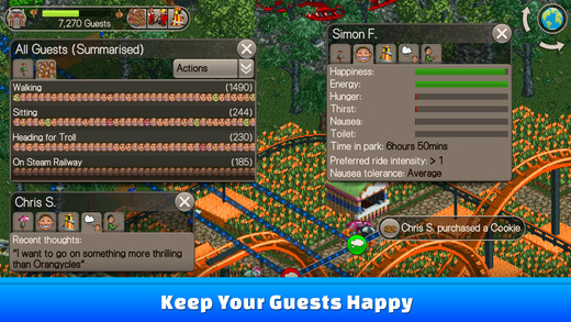 RollerCoaster Tycoon Classic' Just Brought the Best of 'RCT' and