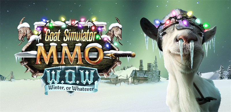 Fight a Forest in the Christmas Update for 'Goat MMO Simulator', Out