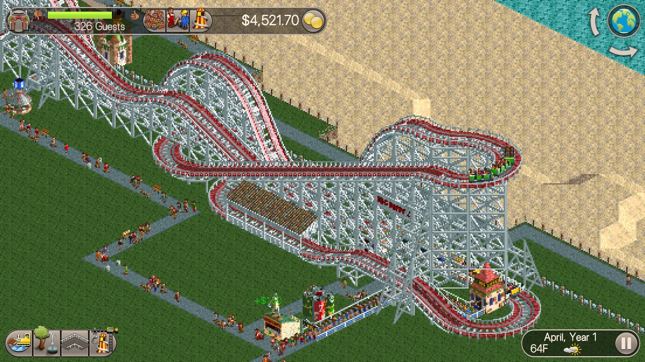 RollerCoaster Tycoon Classic' Review – The Perfect Classic Ride