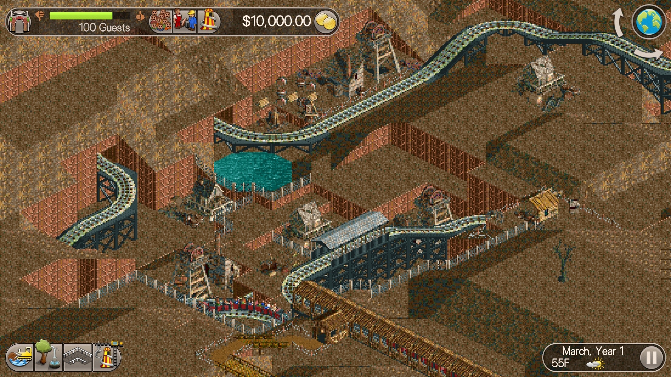 RollerCoaster Tycoon Classic' Review – The Perfect Classic