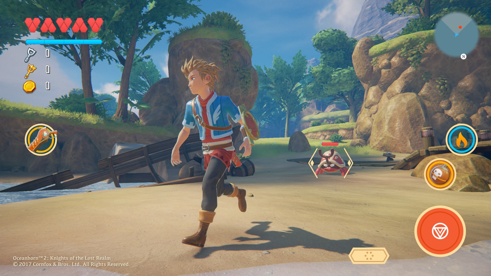 Oceanhorn 2' Being Made in Unreal Engine 4, Gorgeous New