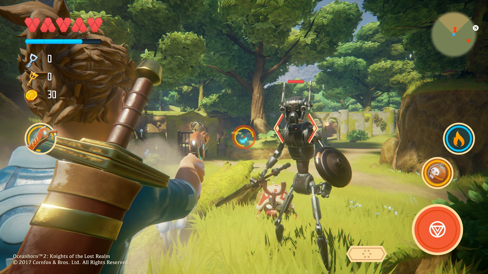 Oceanhorn 2' Being Made in Unreal Engine 4, Gorgeous New Screens