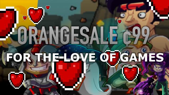 """Orangepixel difunde el amor hoy con ofertas de 99 ¢ en """"Gunslugs"""", """"Heroes of Loot"""" y más 1"""