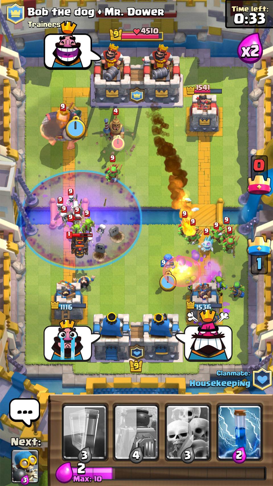 clash royale units