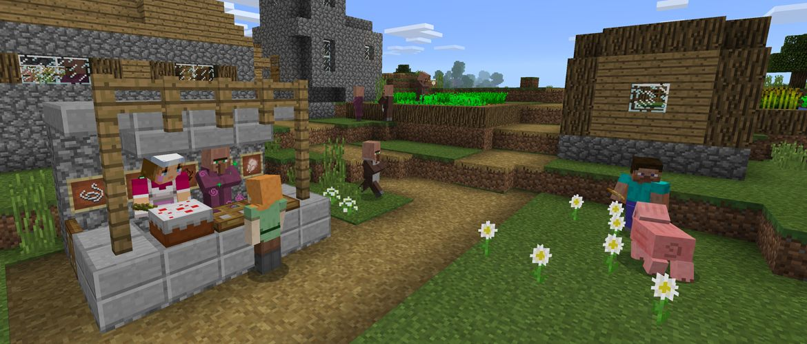 Villager Trading Has Just Been Added to 'Minecraft Pocket
