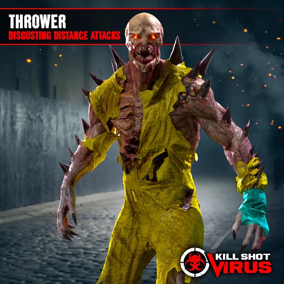 Meet The Zombies Behind The Upcoming 'Kill Shot Virus