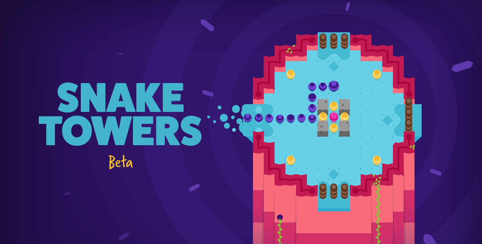 Snake Towers', from the Creator of 'Daddy Long Legs', Is