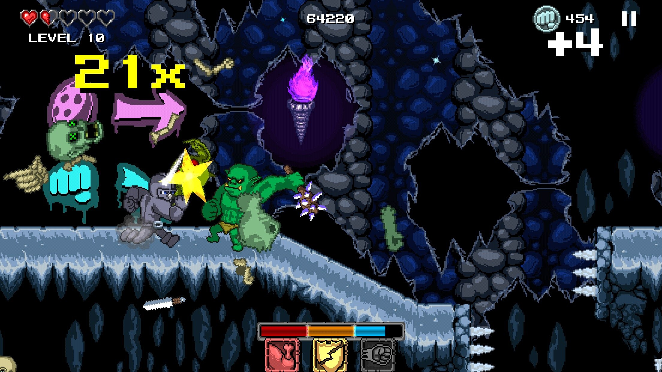 Rompe Huesos Con Punch Quest