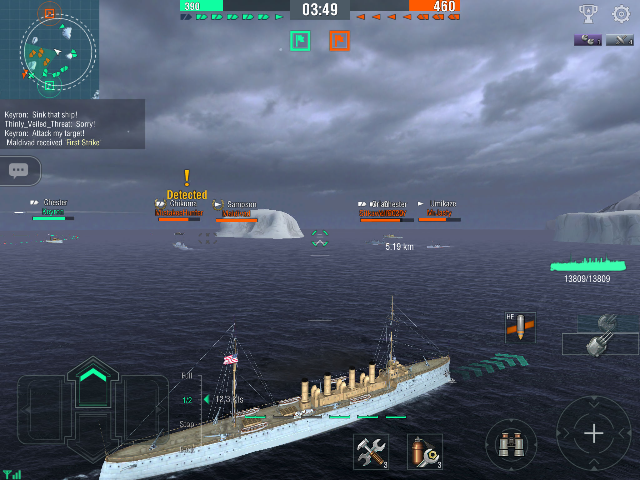 World of Warships Blitz' Review – Smoke (and Shells and Torpedoes