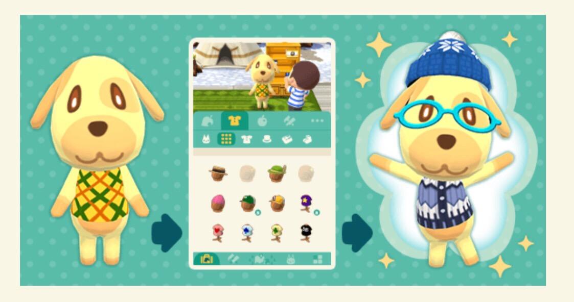 """La última actualización de """"Animal Crossing: Pocket Camp"""" te permite vestir a tus animales, jugar tragamonedas y más 2"""