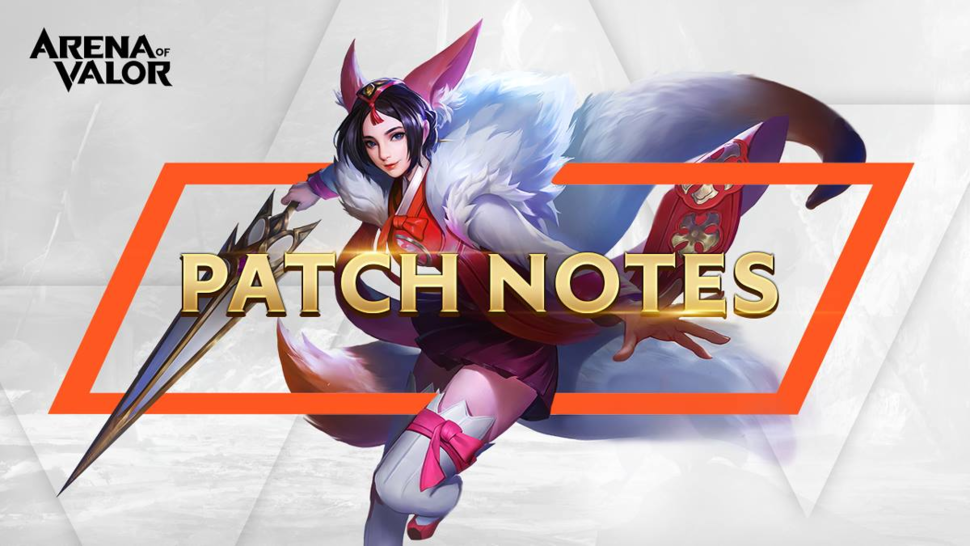 Arena of Valor October Patch Notes