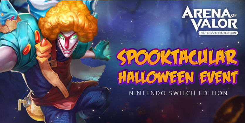Arena of Valor Switch Halloween Event