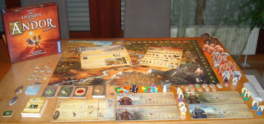 Co-Op Board Game 'Legends of Andor' Gets a Mobile Port