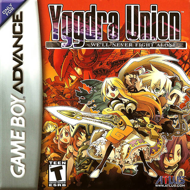 GBA Tactical RPG 'Yggdra Union: We'll Never Fight Alone' Is