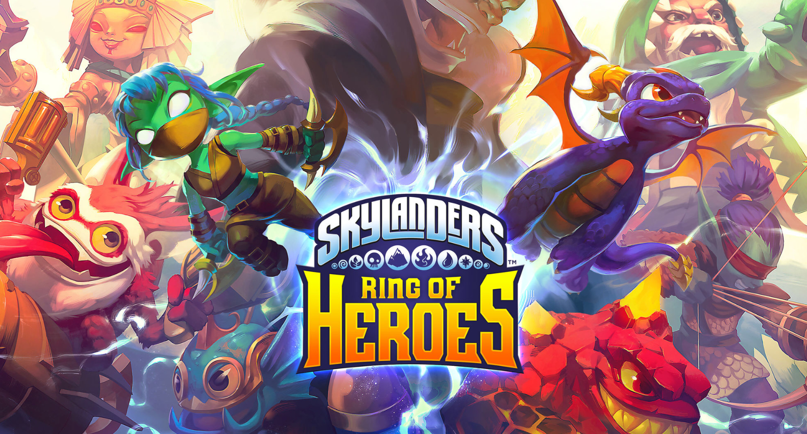 Skylanders Ring of Heroes' from Com2uS Is Finally Available