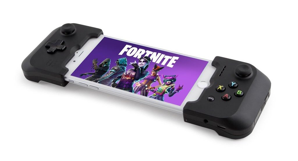 the gamevice iphone controller that costs 79 99 usually is available on amazon and gamevice for just 49 99 for a limited time fortnite was already great - fortnite on ios with controller