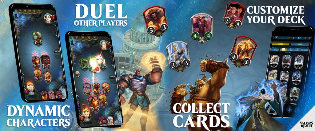 Novo jogo para celular: Valor's Reach