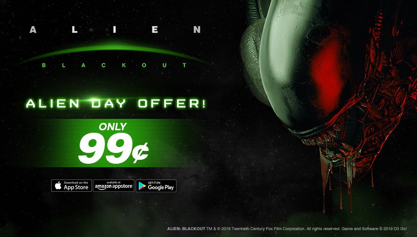 Alien: Blackout' Gets a Massive Discount Today Only to