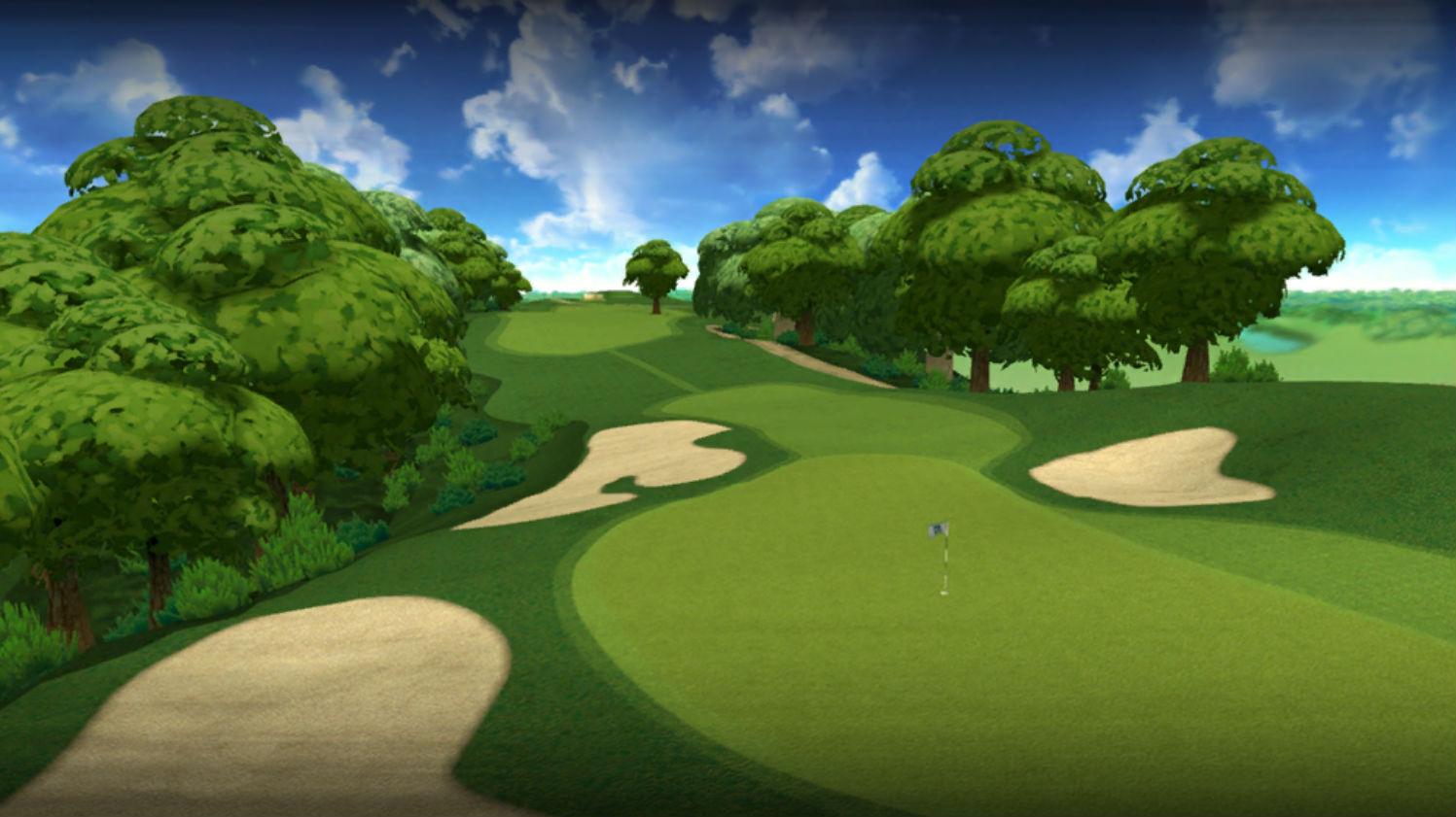 PGA Tour Golf Shootout header