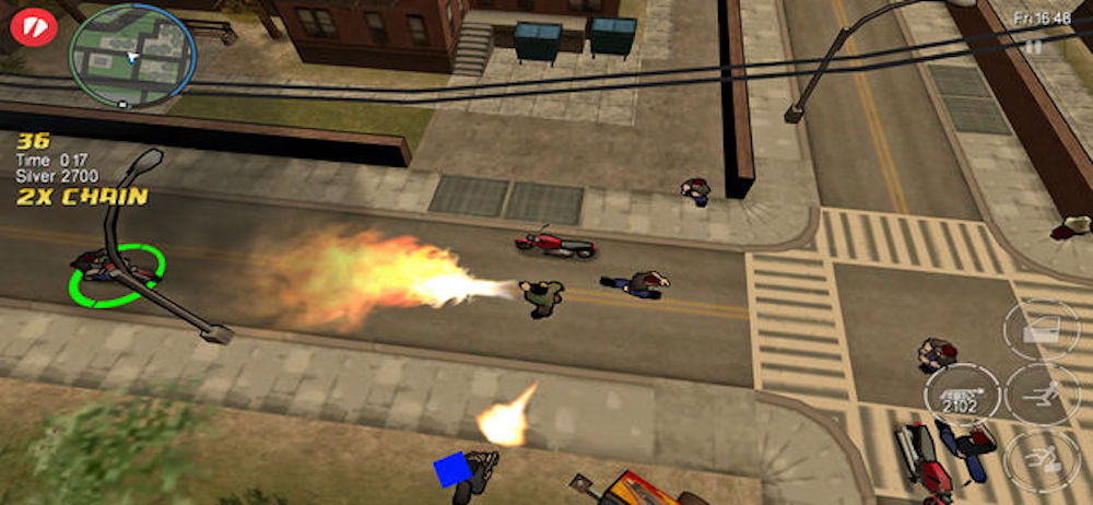 Rockstar Has Updated 'Grand Theft Auto: Chinatown Wars' for