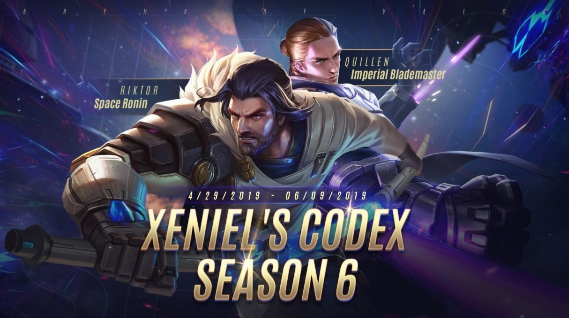 AOV Xeniel's Codex Chapter 6 Rewards