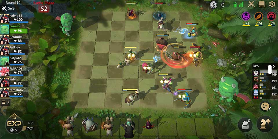 Auto Chess mobile gameplay