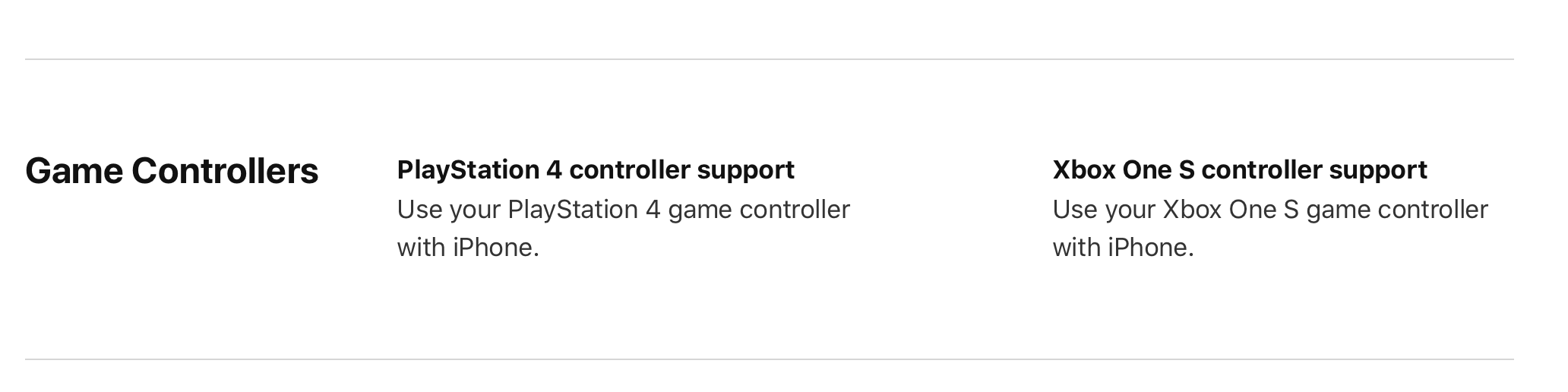 WWDC 2019: Xbox One and PlayStation 4 Controller Support Will Include  iPhone in Addition to Apple TV – TouchArcade