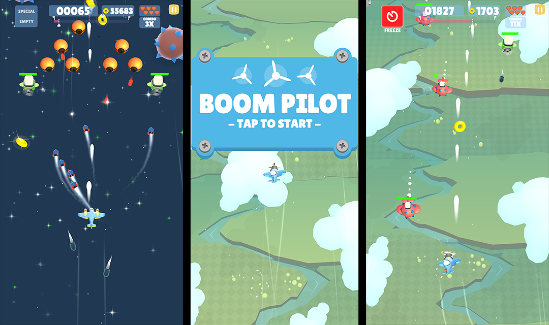 photo of 'Power Hover' Developer Oddrok's New Title 'Boom Pilot' in Open Beta on iOS and Android image