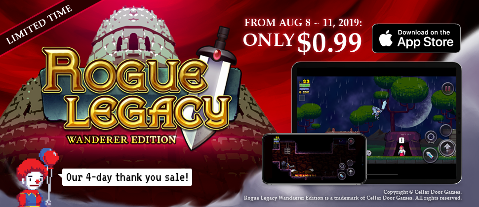 Rogue Legacy' From Cellar Door Games Is Now On iOS As a