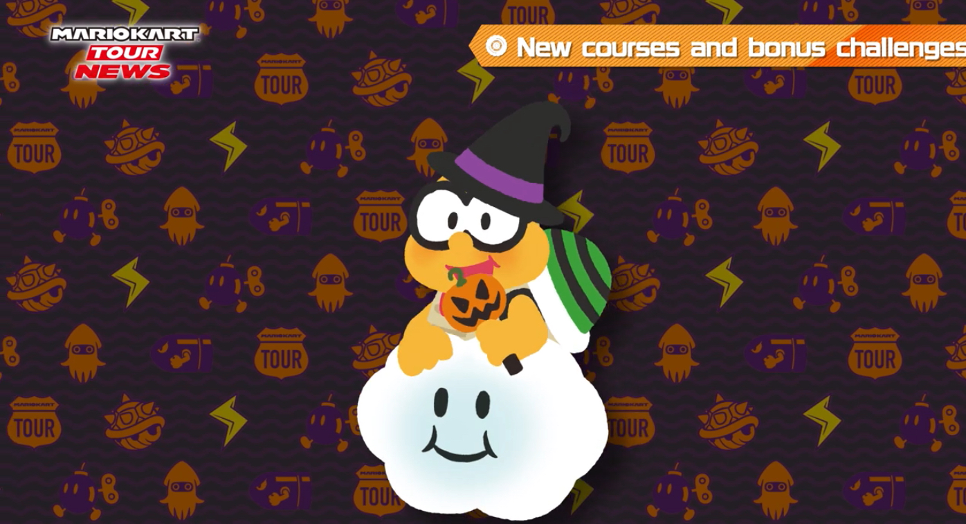 Mario Kart Tour Halloween Tour Dates And New Characters Have Been