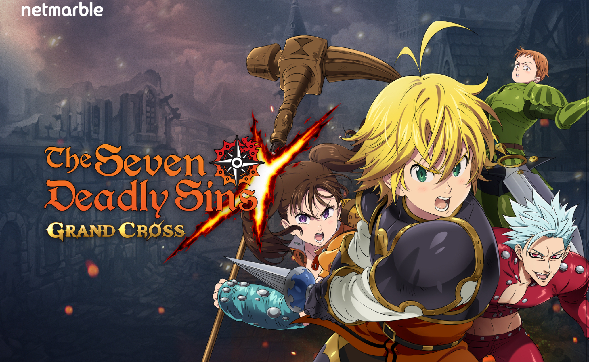 photo of 'The Seven Deadly Sins: Grand Cross' Pre-Registrations Are Now Live on iOS and Android with Various Rewards Available image