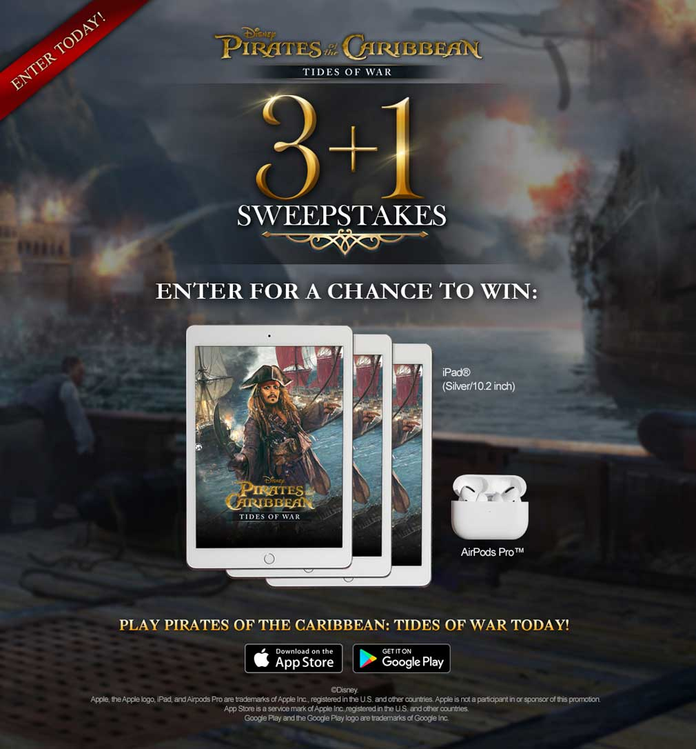 photo of 'Pirates of the Caribbean: Tides of War' is Celebrating its Third Anniversary with Special Events and Free Booty image