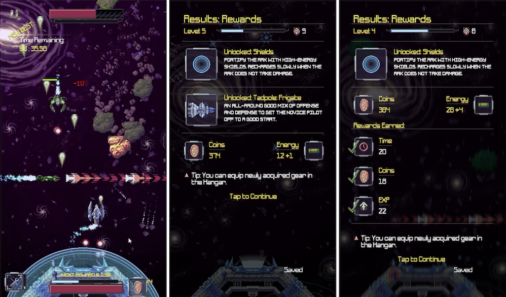 Unique Space Shooter 'Arkfront' Gets Massive Spring Update with New Boss Rush Mode, Optional Challenges, iCloud Save Syncing, and More