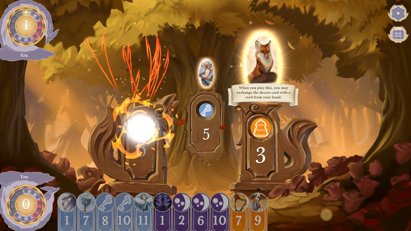 Digital Version of Unique Two-Player Card Game 'The Fox in the Forest' is Heading to Mobile and Steam Next Week